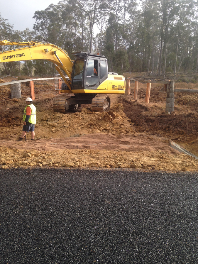 Excavator Hire Evans Excavations Northern Nsw